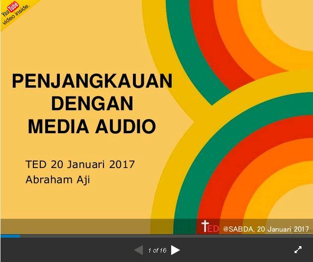 Gambar: PPT Audio
