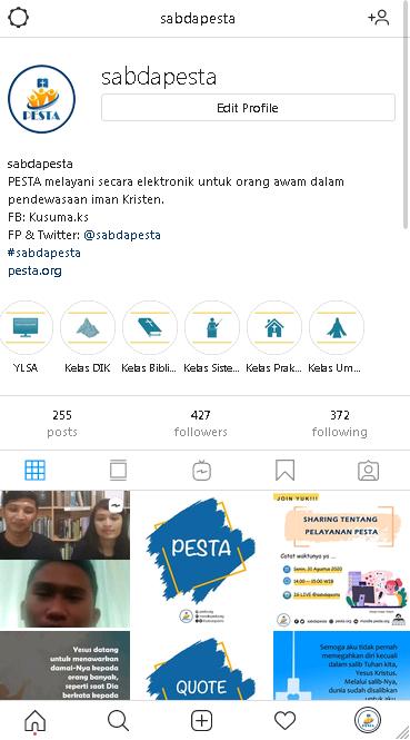 Instagram PESTA