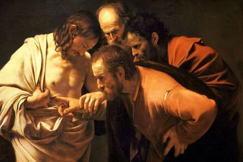 Tomas meminta tanda bahwa Yesus bangkit
