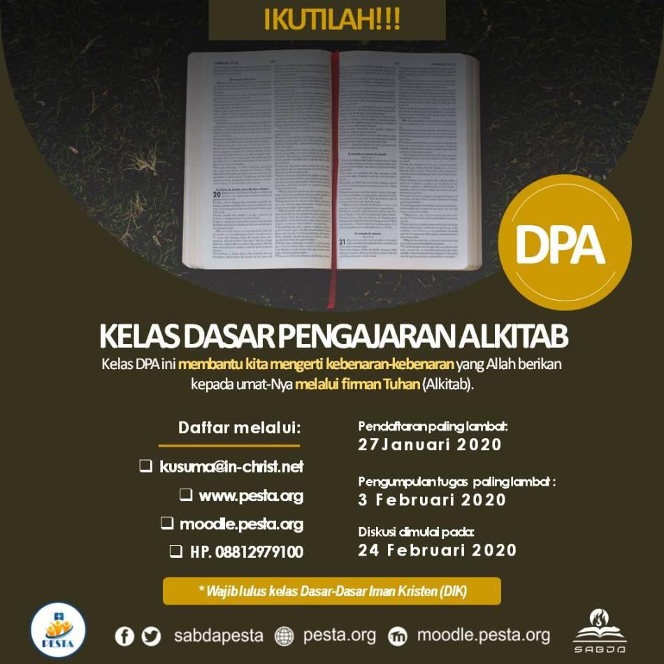 Promosi Kelas DPA