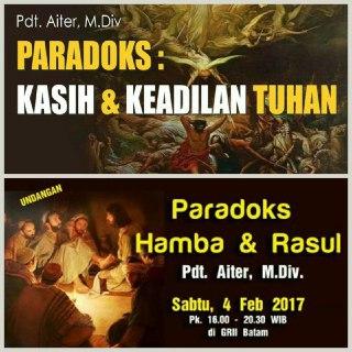 Paradoks Kasih dan Keadilian Tuhan