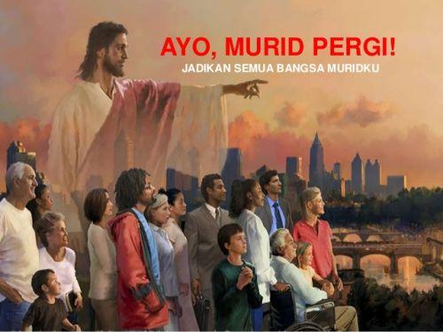 Jadikan Bangsa Murid Yesus