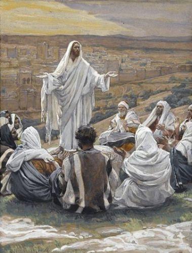 Yesus mengajar Berdoa