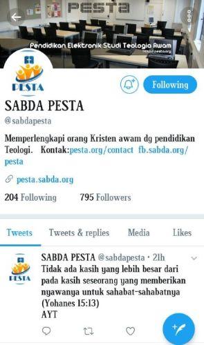 Twitter PESTA