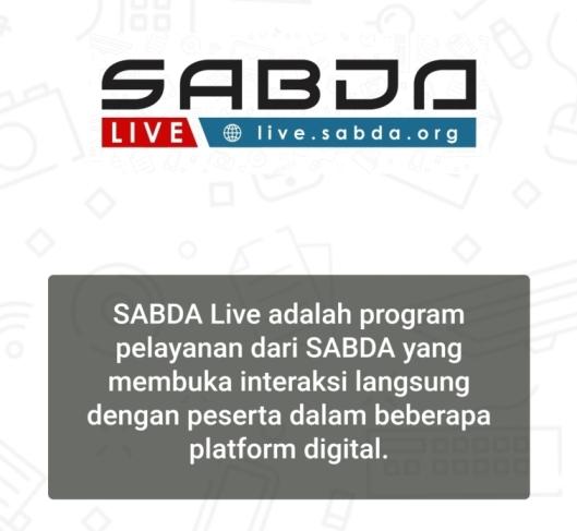 SABDA Live