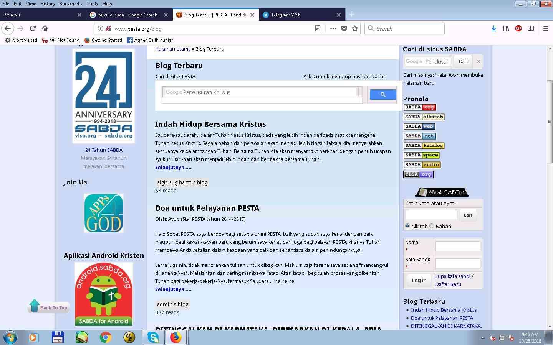 Blog PESTA