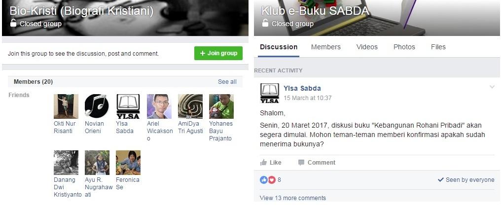 Diskusi Online SABDA