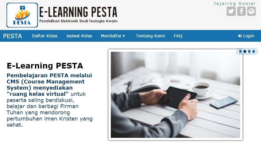 Situs e-Learning PESTA