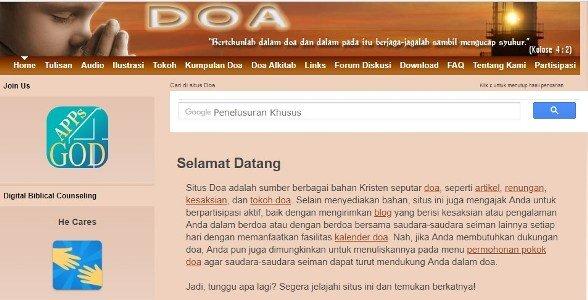 Situs doa
