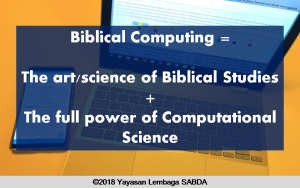 Biblical Computing