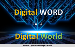 Digital Word for the Digital World