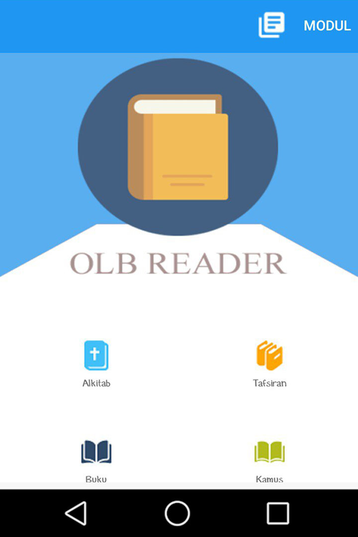 Aplikasi SABDA OLB Reader