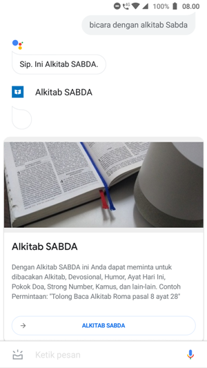 Asisten Alkitab SABDA
