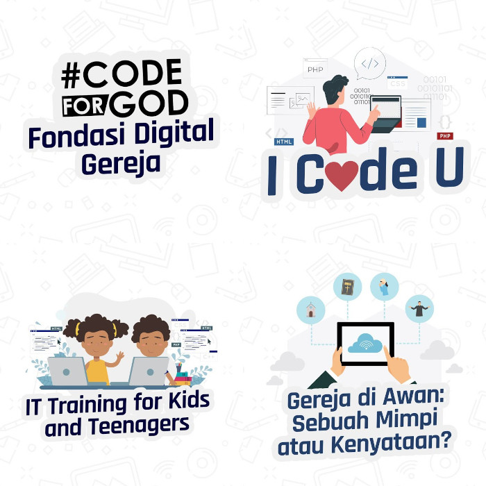 #CodeForGOD dalam SABDA Live