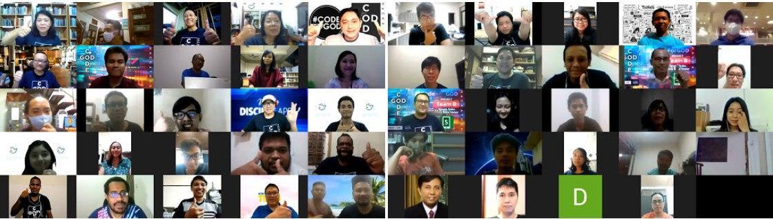 Ringkasan Laporan Penyelenggaraan #CodeForGOD Indonesia 2020
