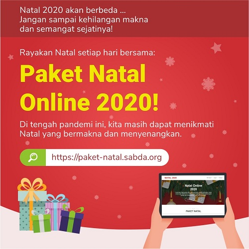 Paket Natal Online 2020