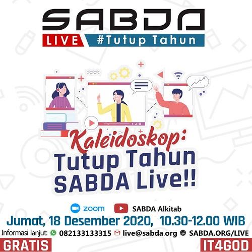 SABDA Live Tutup Tahun