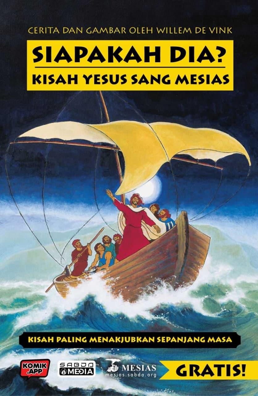 Komik Cetak Siapakah Dia? Kisah Yesus Sang Mesias