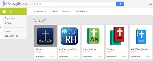 Apps SABDA