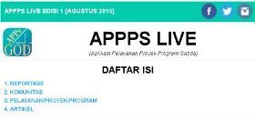 publikasi APPPS Live