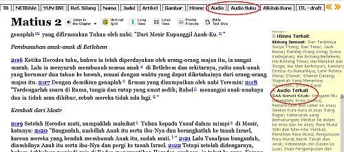 image: Bahan Audio dalam Alkitab SABDA