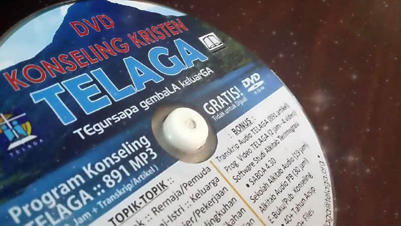 DVD Konseling Kristen TELAGA