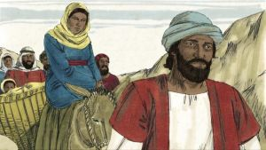 gambar: Maria dan Yusuf