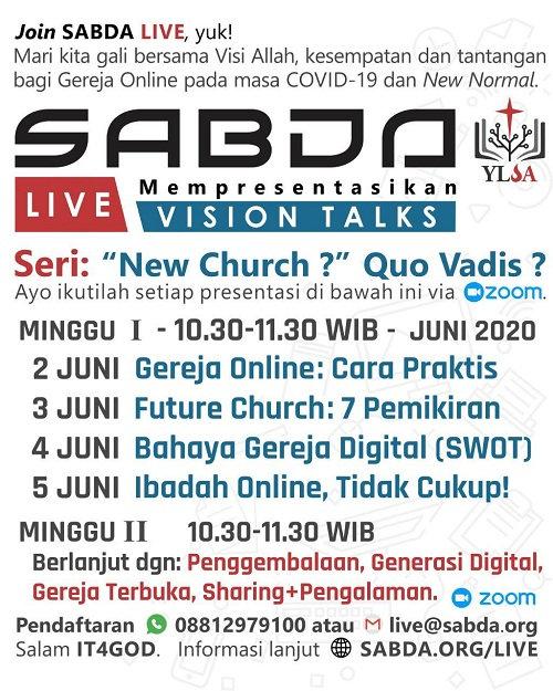 SABDA Live dari YLSA
