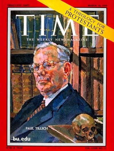Gambar: Paul Tillich dalam Time