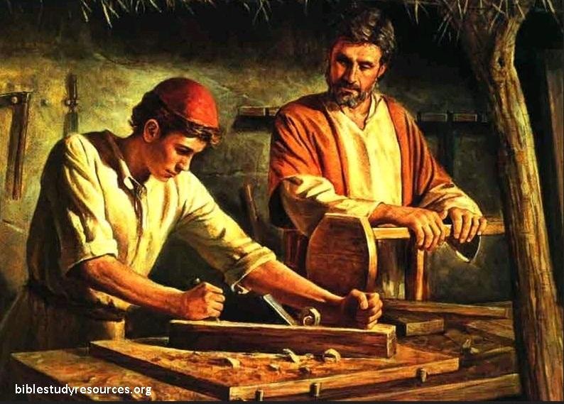 Gambar: Yusuf, ayah Yesus di bumi