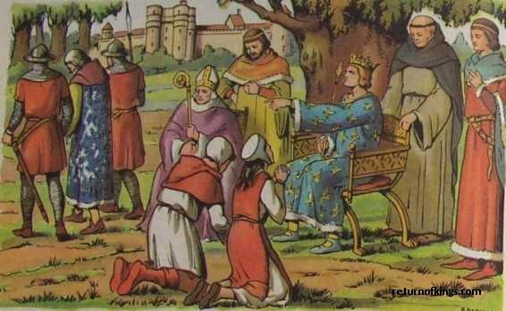 Gambar: Kebijaksanaan Louis IX