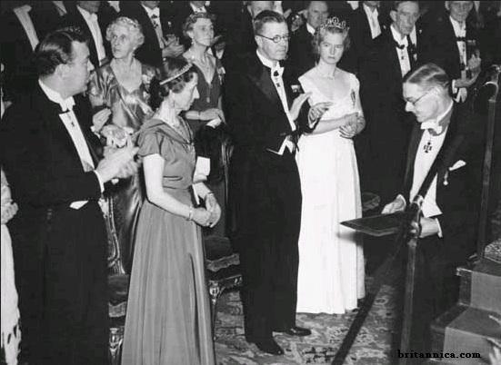 Gambar: Nobel untuk T.S. Eliot