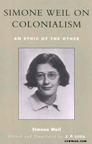 Gambar: Buku Simone Weil