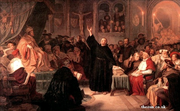 Gambar: Perlawanan Martin Luther