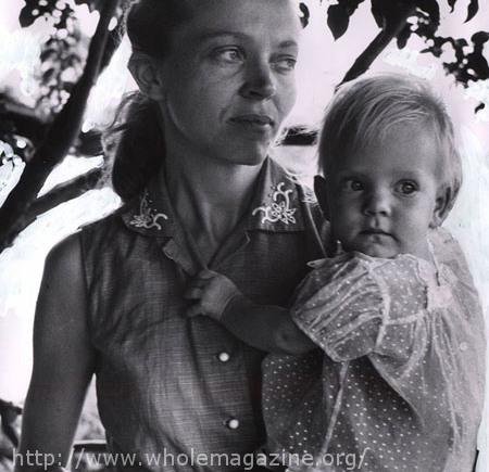 Gambar: Elisabeth dan anak