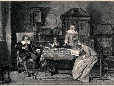 Gambar: Milton dan karyanya