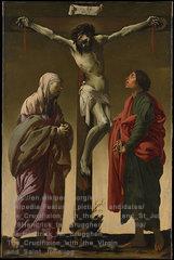 Gambar: Yohanes di kayu salib