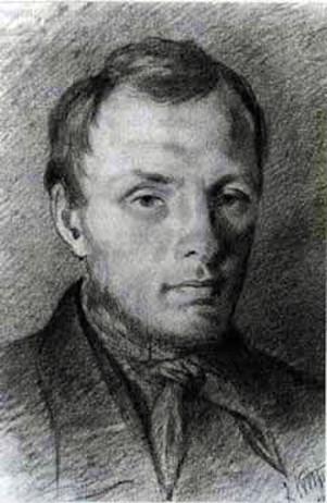Potret Fyodor Dostoyevsky