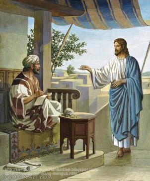 Yesus memanggil Matius
