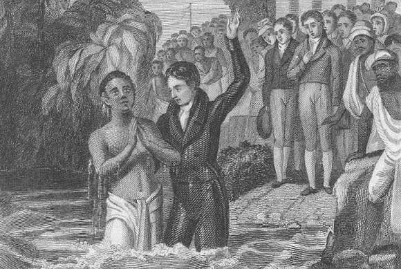 Pembaptisan oleh Carey
