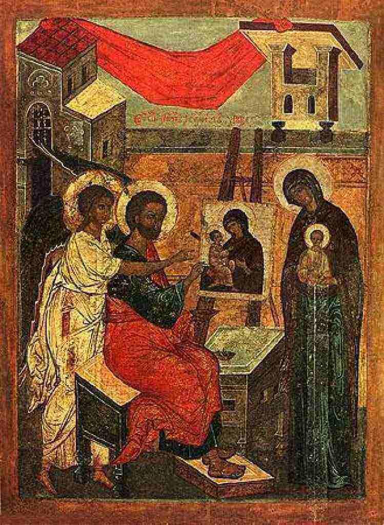 Lukas melukis Maria