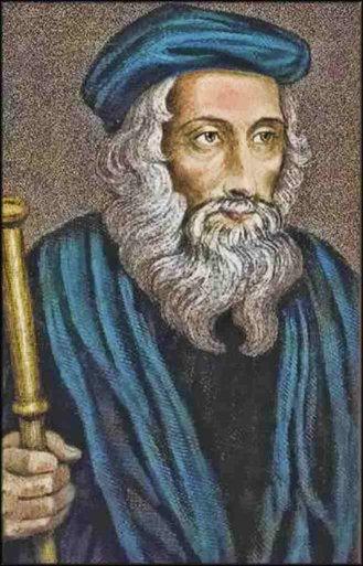 Gambar: John Wycliffe