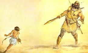 Gambar: Daud dan Goliat