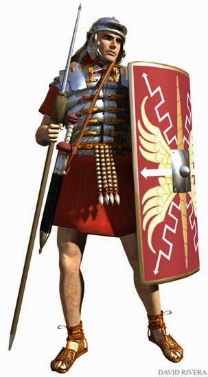 Gambar: tentara Romawi