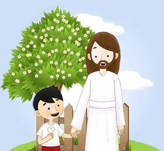 Gambar: Yesus dan anak