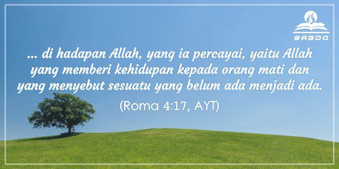 Roma 4:17, AYT