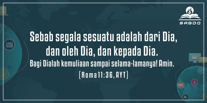 Roma 11:36, AYT