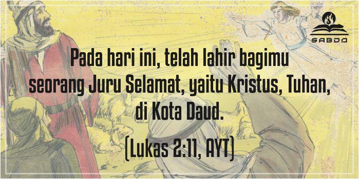 Lukas 2:11, AYT