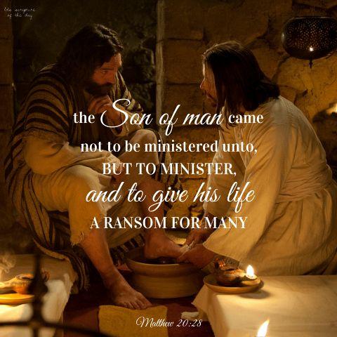 Matius 20:28