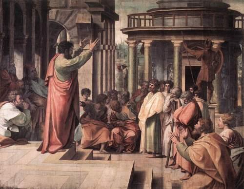 Gambar: Pengajaran dalam gereja mula-mula